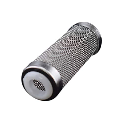 - Aquarium Fish Tank Filter, Tuscom Stainless Steel Aquarium Fish Tank Strainer Filter Mesh Net Pre-Filter Intake Filter Cover Filter Guard Fish Shrimp Safety Protector (6.8x2.5cm(S))