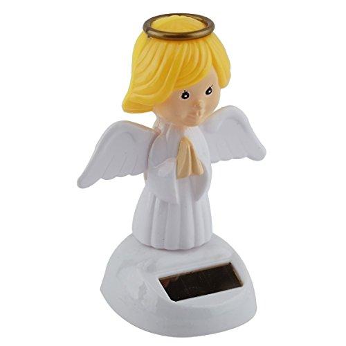 Mstechcorp, Solar Toy Dancing Skeleton Pumpkin for Halloween Party Games Bobble Head Ghost - USA SELLER!! (Praying Angel)