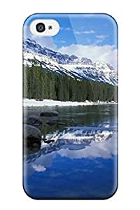 Hot Bow River Castle Mountain Canada Tpu Case Cover Compatible With Iphone 5/5S 3151832K56837238