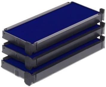Trodat Replacement Ink Cartridge 6//4914 pack of 3 Color black