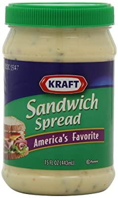 Kraft Sandwich Spread, 15-Ounce Jars (Pack of 6)