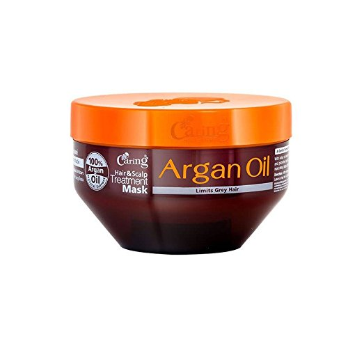 Caring Hair & Scalp Treatment Mask Argan Oil 200 ml. free shipping