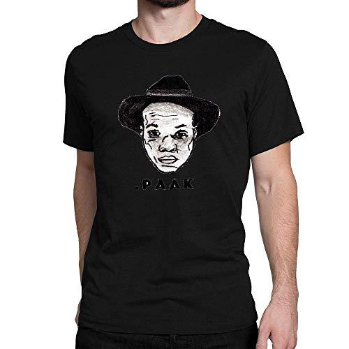 MathewARice Men's Anderson Paak 1 Short Sleeve T Shirt,Black,X-Large