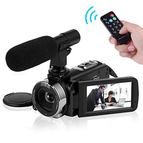 Video Camera Camcorder 4K Ultra HD Digital...