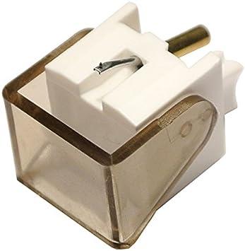 iBatt - Aguja fonográfica para tocadiscos, cód. 233-1, Compatible ...