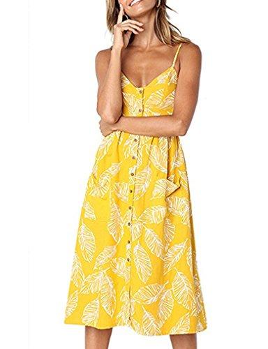 Summer Floral Midi Dresses