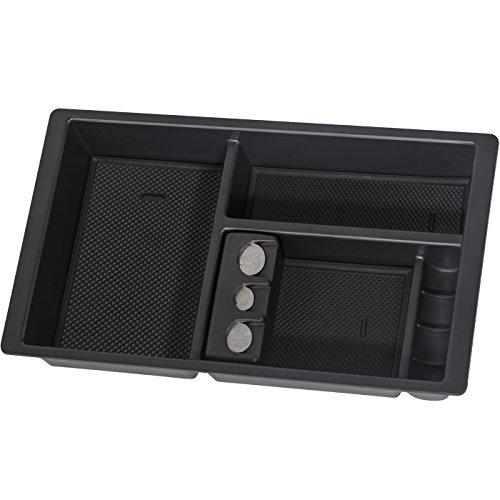 OxGord Center Console Insert Organizer Tray for 14-19 Silverado, Tahoe, Suburban, Sierra, Yukon, Escalate - Aftermarket Part Replaces 22817343 ()