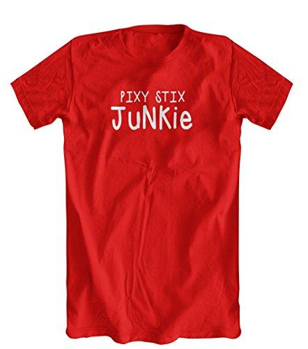 pixy-stix-junkie-t-shirt-mens-red-x-large