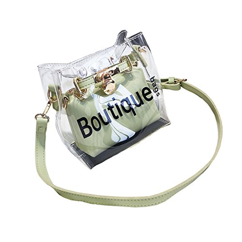 Mujer Shoppers y bolsos de hombro Bolsos bandolera Carteras de mano y clutches Verde