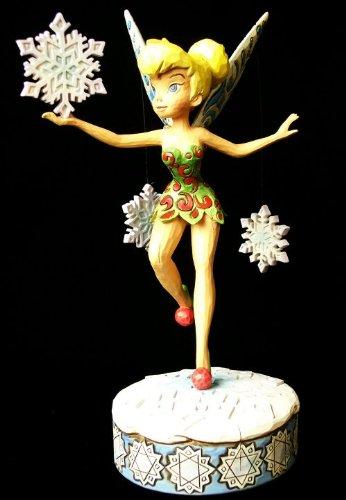 "Jim Shore - Disneys Tinker Bell ""Winter Wonderland"" by Enesco - 4008068"