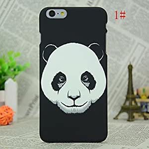WQQ Luminous Animal Head Pattern Handle Series Back Cover Case for iPhone 6 , 1#