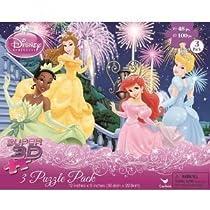 Disney Princess 3D 3-in-1 Puzzle