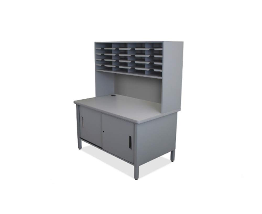 Powder Coated Heavy Duty Steel Construction 20 Slot Mailroom Sorter Storage Shipping Tables by SEADOSHOPPING (Image #1)