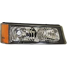 CHEVY PICK UP AVALANCHE (WITHOUT BODY CLADDING) STEEL BMP PARKING S.LAMP RIGHT (PASSENGER SIDE) 2003-2006