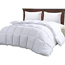 Queen Comforter Duvet Insert White - Quilted Comforter with Corner Tabs - Hypoallergenic, Plush Siliconized Fiberfill...