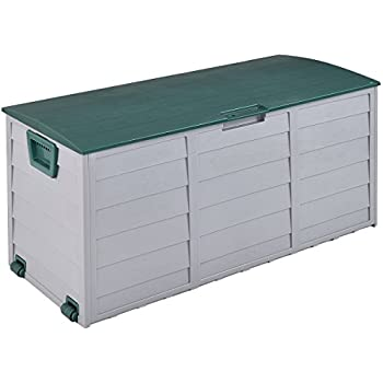 Amazon.com : Outdoor Patio Deck Box All Weather Large Storage ...