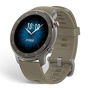 Amazfit GTR 47mm Smartwatch Sports Watch 5 ATM Waterproof with GPS, Pedometer, Sleep Monitor, 12 Sport Modes, Titanium