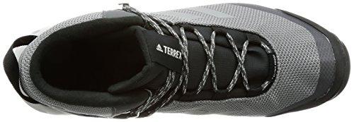adidas Terrex Tivid Mid CP, Stivali da Escursionismo Alti Uomo Grigio (Gricua/Gricua/Gricin)