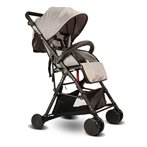 JM Baby Carriage Lightweight Children's Chair Baby's Chair Bag Cart High Landscape Seat Collapsible Stroller Aluminum Alloy (Color : E) ()