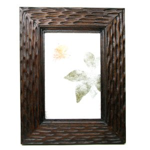 """Java Picture Frame, Made of Reclaimed Teak Wood, Holds 4""""x 6"""" photo."""