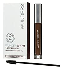 WUNDERBROW The Perfect Eyebrows That Last for Days in Under 2 Minutes Brunette -3G (Black/Brown)