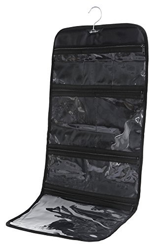 Amazoncom Foldable Hanging Toiletry Travel Bag Organizer Travel