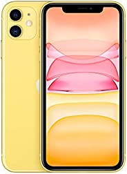 Apple iPhone 11 (128GB, Yellow) [Locked] + Carrier Subscription