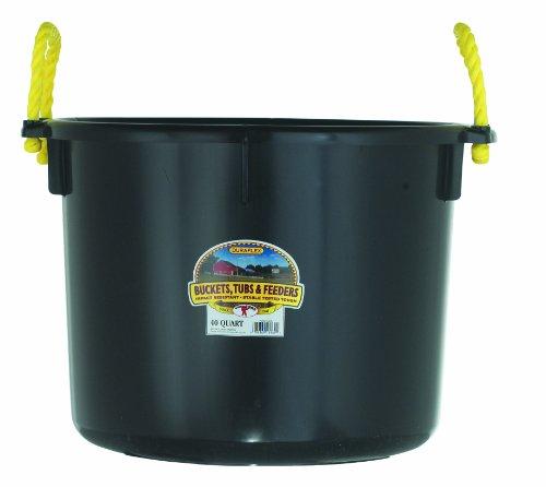 Little Giant Farm & Ag Miller Manufacturing PSB40BLACK 40-Quart Black Muck Tub