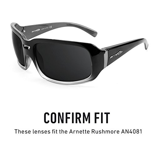 — Arnette Revant Elite Rushmore Polarizados Opciones Mirrorshield repuesto AN4081 Lentes de para múltiples Titanio SwTWqgr6T0