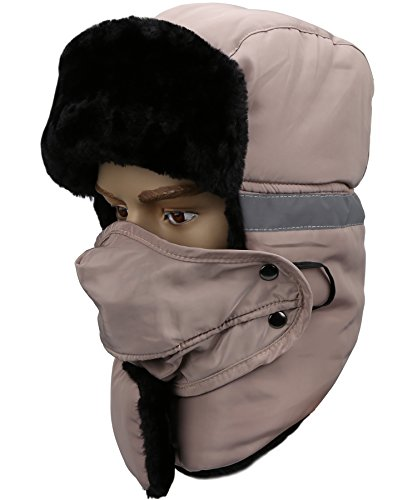 Mysuntown 2017 New Style Unisex Winter Trapper Trooper Hat with Windproof  Mask – Extrevity Shop fa302a310936