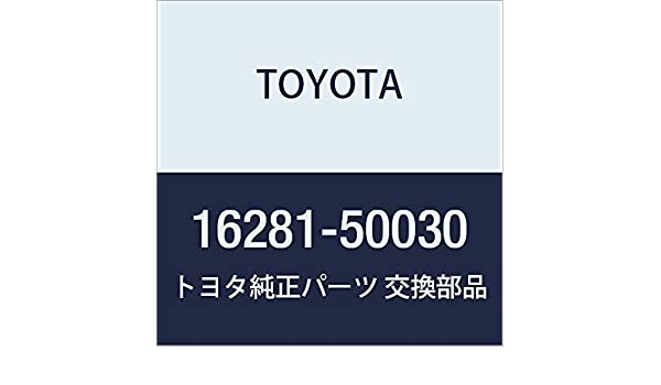 Genuine Toyota 16281-0P010 Water By-pass Hose