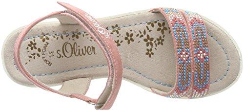 s.Oliver 48205, Sandalia con Pulsera Para Niñas Rosa (Dusty Pink)