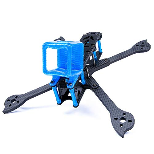 iFlight XL5 V4 True X 5 Inch 227mm FPV Carbon Fiber Racing Frame Kit with 3D Printed Camera Protector Mounting Case TPU Gopro ()
