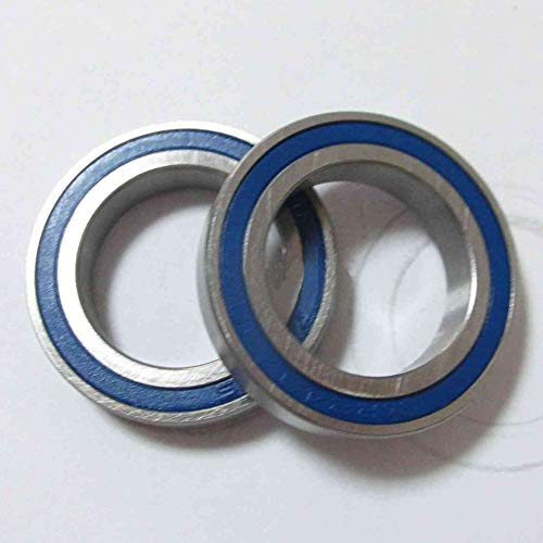 Kyuccfrs Ceramic BB90 Bicycle Bike Cartridge Bearing MR2437 2RS Si3N4 24x37x7mm - 2pcs