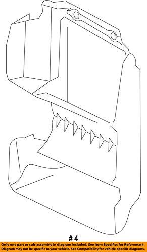 HYUNDAI OEM 17-18 Santa Fe 2.0L-L4 Intercooler-Air Guide 282742G350 by HYUNDAI (Image #2)