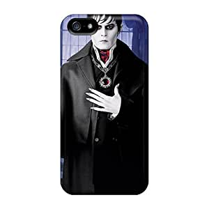 Iphone 5/5s Case Cover - Slim Fit Tpu Protector Shock Absorbent Case (dark Shadows Movie)