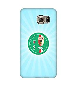 3D Cover FC Augsburg Football Club Logo for Galaxy S6 Edge Plus Funda Case Cover Print Photo Plastic Protector swag Design for Kids