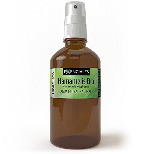 Hamamelis BIO - Agua floral ECOLOGICA - 100% Pura y Certificada - 500 ml Essenciales