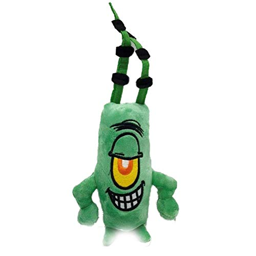 SJSXT 1pc Cute Spongebob Plush Toys Spongebob/Patrick Star/Squidward Tentacles/Eugene/Sheldon/Gary Stuffed Doll Toys for Kids Girls