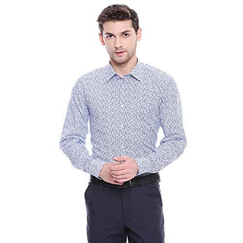 blackberrys Men's Printed Slim fit Formal Shirt