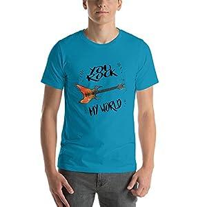 Ground 29 You Rock My World Aqua Short-Sleeve Unisex T-Shirt