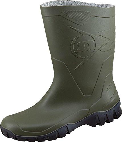 Dunlop DUK680211 - Botas de caucho para hombre verde oliva
