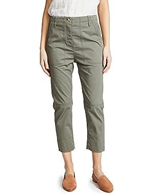 Women's Spring Crop Cargo Pants