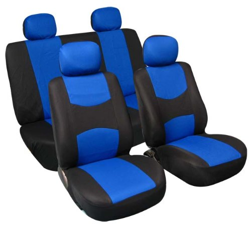 universal seat covers blue - 9