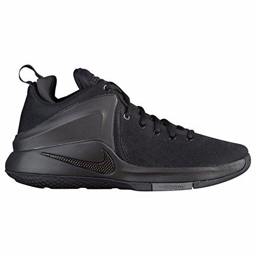 Nike Herre Lebron Zoom Vidne Basketball Sko Sort / Sort-mørkegrå oM8yn