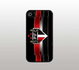 Sao Paulo Futbol Club SPFC Snap-On Case for Apple iPhone 5 - Hard Plastic - Black - Cool Custom Cover - Soccer