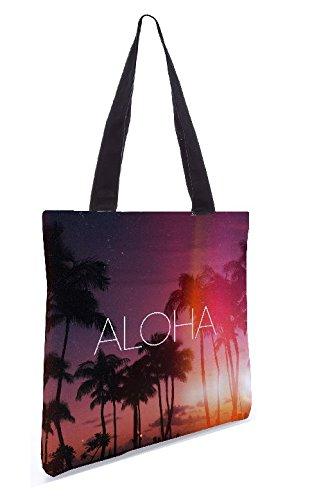 Di Snoogg Shopping 15 Bag Pollici 13 5 In Tote X Poliestere Tessuto Aloha nPYrqxPwO