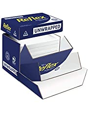 Reflex Australian Made Ink Wise Reflex Unwrapped Office Copy Paper, A4, 2500 Sheets, Bulk Box, White, (161008)