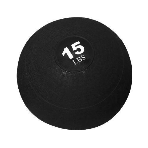Valor Fitness Slam Ball, 15-Pound, Black