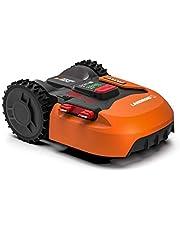 Worx Landroid S WR130E Robotmaaier, accugrasmaaier voor kleine tuinen tot 300 vierkante meter, zelfrijdende grasmaaier voor een schoon gazon